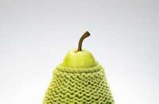 Pear Sweaters - The Calgary Farmers' Market Advertises That It is Open All Winter Long