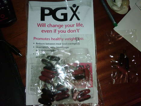 Diet Fiber Pills - PGX Claims to Absorb Water and Help You Lose Weight Like Crazy