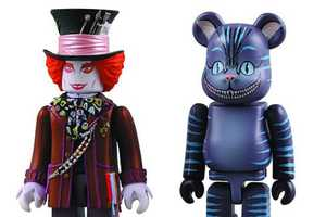 Alice in Wonderland Kubrick and Bearbrick Set Will Scare the Kids