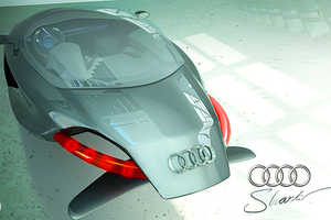 The Badass Audi Shark 3-D Concept by Kazim Doku