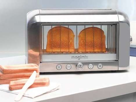 See-Through Toasters - Transparent Magimix Toaster Lets You Eyeball the Perfect Shade of Brown