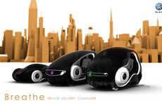 Wedge-Shaped Minicars