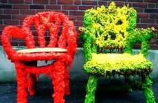 Reclaimed Refuse Seating - 'Fizz' by Valera Barnayev Turns Trash into Art Furniture