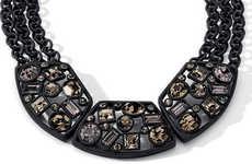 Geometric Gem Collars