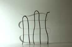 Organic Squiggle Bookcases - The Signature Shelf is Simply Interesting