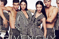 Haute Hypnotic Ads - The Hallucinogenic Givenchy Spring Summer 2010 Campaign