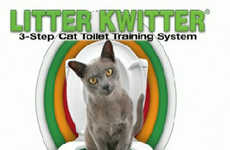 The Litter Kwitter System Teaches Your Cat to Use a Human Toilet