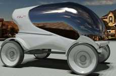 Glass Dome Minicars - The Four 1 Vehicle is a Green Option for the Single Rider
