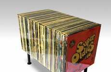 Fake Retro Record Tables
