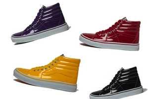 Vans SK8 Hi Tonal Patent Leather Pack Color Codes Your Kicks