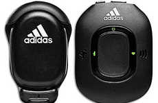 Fitness Tracking Gadgets - The Adidas miCoach System Monitors Your Excercising Habits