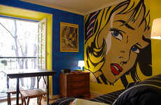 Pop Art and Primary Colors Create Lively Living Spaces