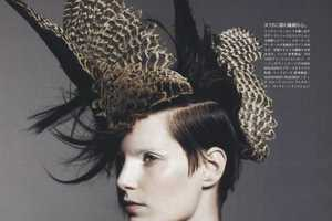 More Military for 'Marching to a Different Beat' in Vogue N