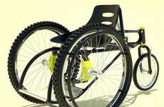 Mountain-Climbing Wheelchairs
