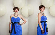 Retro Wedding Party Attire - Quail Bridal Solves the Brutal Bridesmaid Dress Conundrum