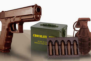 Explosively Sweet Treats Shaped like Guns, Ammo and Grenades