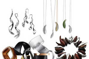 Modern Art Accessories by Frank Gehry for Tiffany & Co.