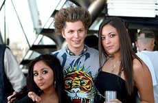 Leading Man Guido Makeovers - Michael Cera's Jersey Shore Makeover is All Fist Pumping, All the Time