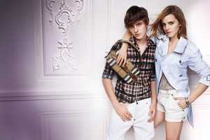 Emma and Alex Watson Star in the Burberry Spring 2010 Ad Campaign