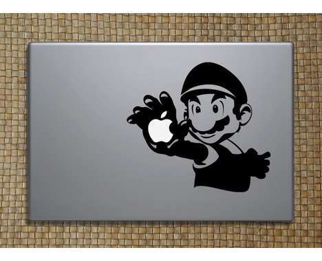 10 Decorative Macbook Decals