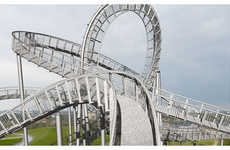 Rollercoaster Sculptures - The Tiger & Turtle Magic Mountain Landmark for Ruhr 2010