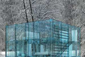 This Concept House is Made Completely from Glass