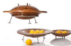Alien Invader Fruit Bowls