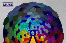 Psychedelic Graphic Albums - The Muse 'Resistance' Album Cover by La Boca