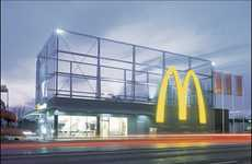 Sleek Fast Food Redesigns - McDonald's Drive-In Restaurant in Maribor, Slovenia Gets Makeover