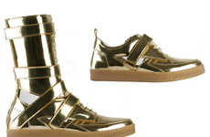 Haute Metallic Kicks - Givenchy's Spring/Summer 2010 Men's Sneakers are Out of This World