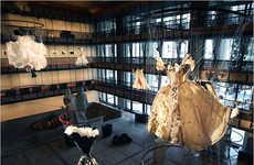 Floating Vintage Opera Costumes