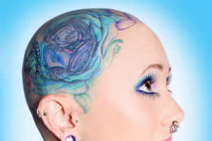 Jinxi Boo is Shocking America With Her Head to Toe Ink