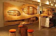 Wavy Wooden Interiors