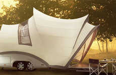 Contemporary Caravans - 'Opera' by Axel Enthoven is a 21st Century Canvas for the Luxury Traveller