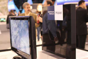 The Haier Wireless TV Has No Cables, None