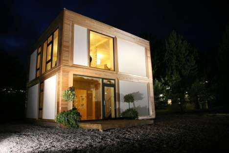Straw and Hemp Homes - Modcell Prefab Homes are Good Looking and Sustainable