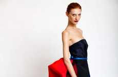 Big Striped Bustles - Carolina Herrera Pre-Fall Collection is Big on Bright Colors
