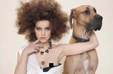 Questionable Puppy Love - Is the Style Sense Editorial Shoot Sensual, Sexual or Artistic?