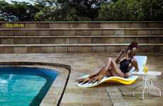 Wave-Inspired Deck Chairs