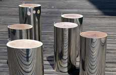 Malafor Trunks Serve as Stools and Hot Home Decor