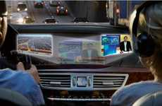 Dual-View In-Dash Displays - See the Mercedes Benz Splitview in 2010 Models