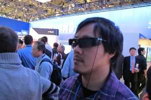 Panasonic 3D TV Literally Reaches Out to Viewers