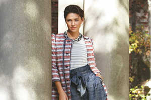 Gossip Girl Actress Jessica Szohr in Teen Vogue