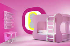 Psychedelic Children's Bedrooms - Karim Rashid Designs Colorful Furniture for Neoset