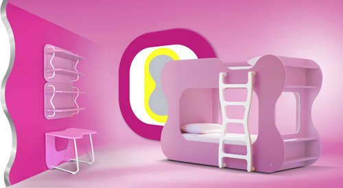 Psychedelic Children's Bedrooms