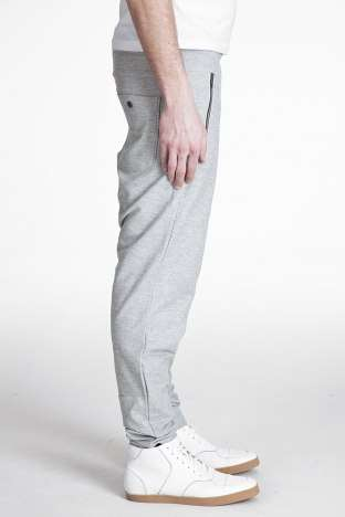 Skinny Sweats - Ssense's Tapered Sweat Pants Made of Fleece & Cotton