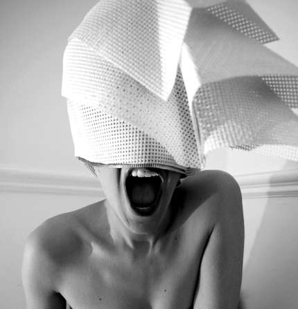 Geometrical Headwear - Creativity Gives a New Spin on Out-There Fashion