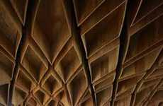Geometric Subway Ceilings