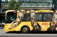 33 Uber Bizarre Buses - From Snake-Crushing Campaigns to $1 Bus Rides