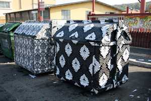 Wallpapered Dumpsters Considered
